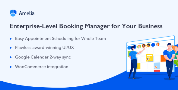 Amelia v2.2.1 - Enterprise-Level Appointment Booking