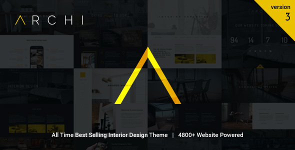 Archi v3.6.8.4 - Interior Design WordPress Theme
