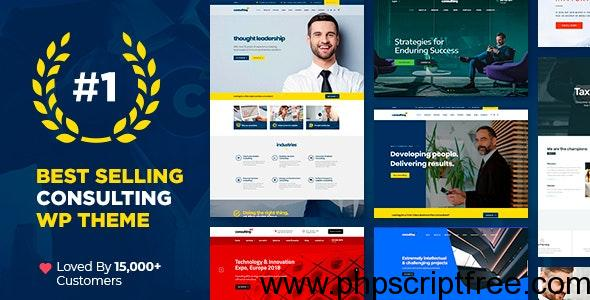 Consulting v4.6.9.2 - Business, Finance WordPress Theme