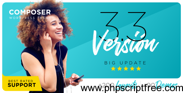 Composer v3.3.6 - Responsive Multi-Purpose Theme