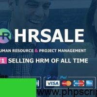 HRSALE v1.1.9 – The Ultimate HRM PHP Script