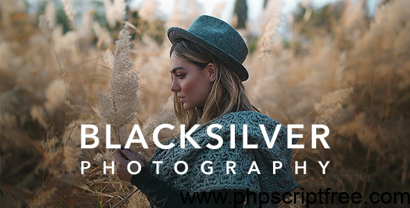 Blacksilver v4.1 – Photography Theme for WordPressnulled Free Download Premium