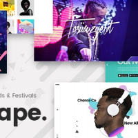 Mixtape v1.8 – Music Theme for Artists, Bands, and Festivals – Free Download