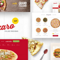 Pizzaro v1.3.3 – Fast Food & Restaurant WooCommerce Theme – Free Download