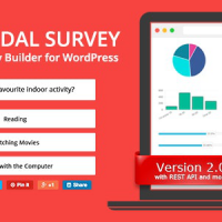 Modal Survey v2.0.1.4 – Poll, Survey & Quiz Plugin – Free Download