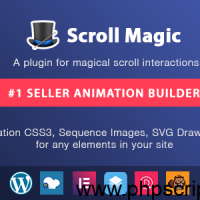 Scroll Magic v3.3.1.2 – Scrolling Animation Builder Plugin – WordPress Plugin Free Download