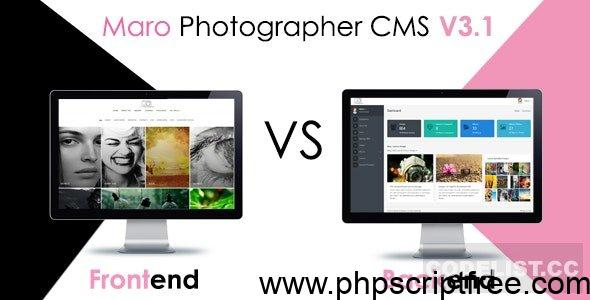 Maro Phpotographer CMS v3.2 – PHP Script Free Download