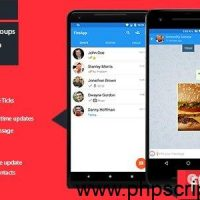 FireApp Chat v1.3.1 – Android Chatting App with Groups Inspired by WhatsApp – Mobile App Free Download