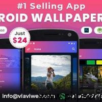 Android Wallpapers App v1.0 – (HD, Full HD, 4K, Ultra HD Wallpapers) – nulled – Mobile App Free Download