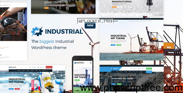 Industrial v1.4.9 – Factory Business WordPress Theme – Free Download