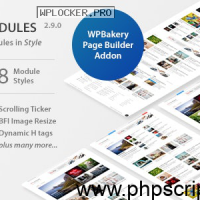 WP Post Modules for NewsPaper and Magazine Layouts v2.9.0 – Free Download