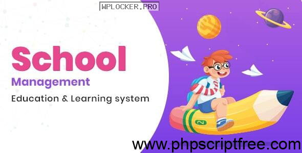 School Management v6.6 – Education & Learning Management system for WordPress – Free Download