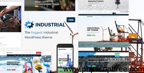 Industrial v1.6.0 – Factory Business WordPress Theme – Free Download