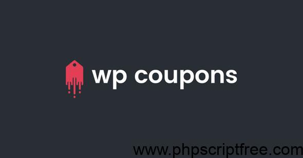 WP Coupons v1.7.5 – The #1 Coupon Plugin for WordPress – Free Download