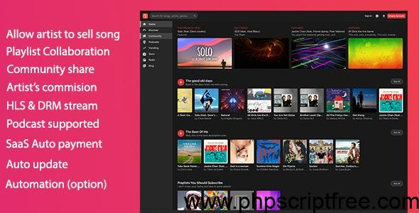 MusicEngine v2.0.8 – Music Social Networking PHP Scripts – Download