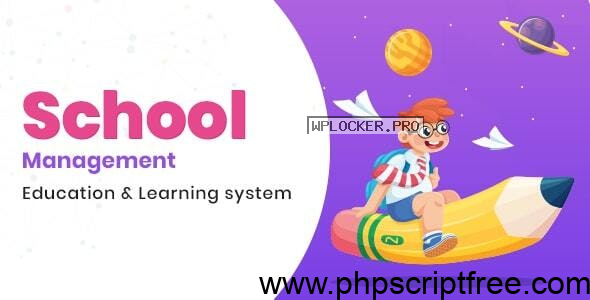 School Management v7.3 – Education & Learning Management system for WordPress – Free Download