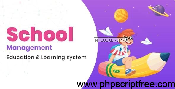 School Management v7.6 – Education & Learning Management system for WordPress – Free Download