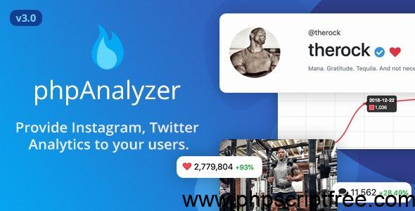 phpAnalyzer v3.1.4 – tools Instagram PHP Scripts – Download