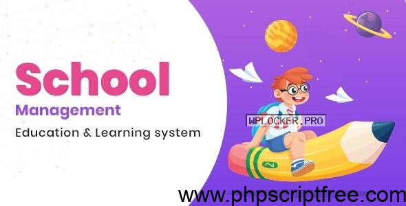 School Management v7.8 – Education & Learning Management system for WordPress